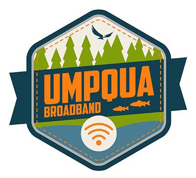 Umpqua Broadband Concept Logo