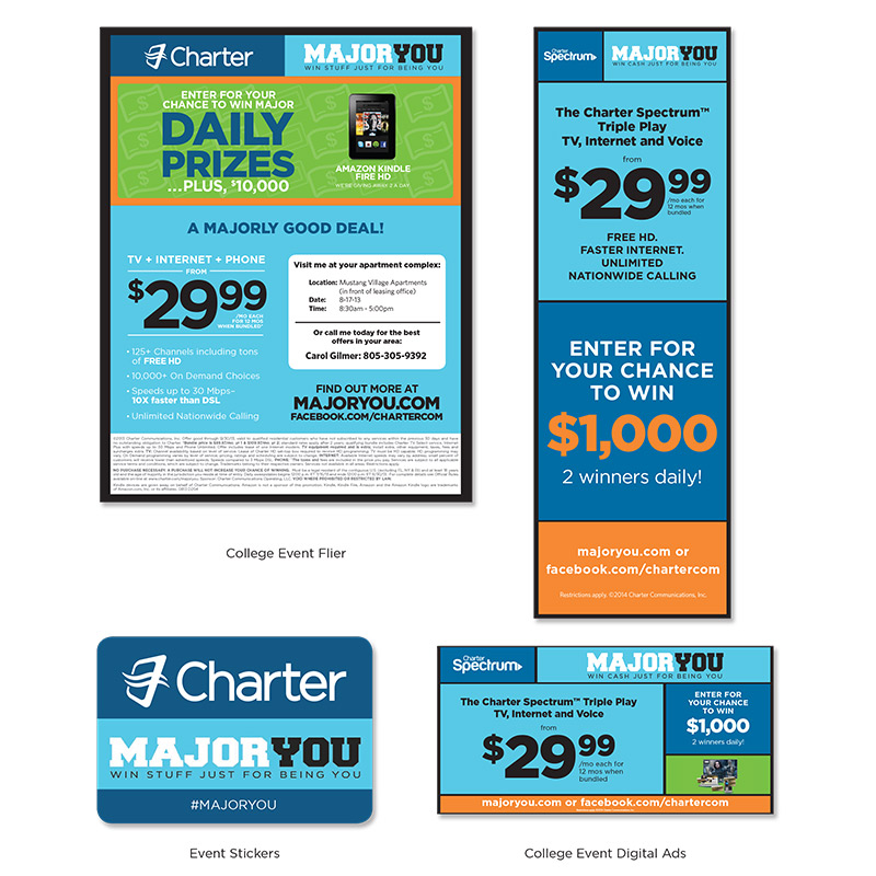 Charter Cable Event Materials