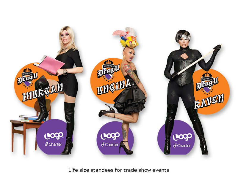 Charter - Trade Show Standees
